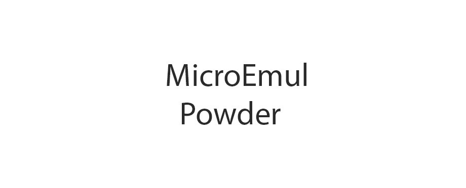 MicroEmul – Powder